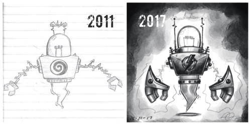 Draw this again - Electro-Bot