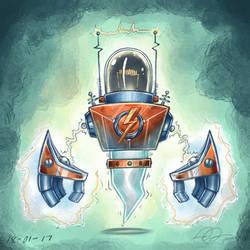 Electro-Bot (Coloured)