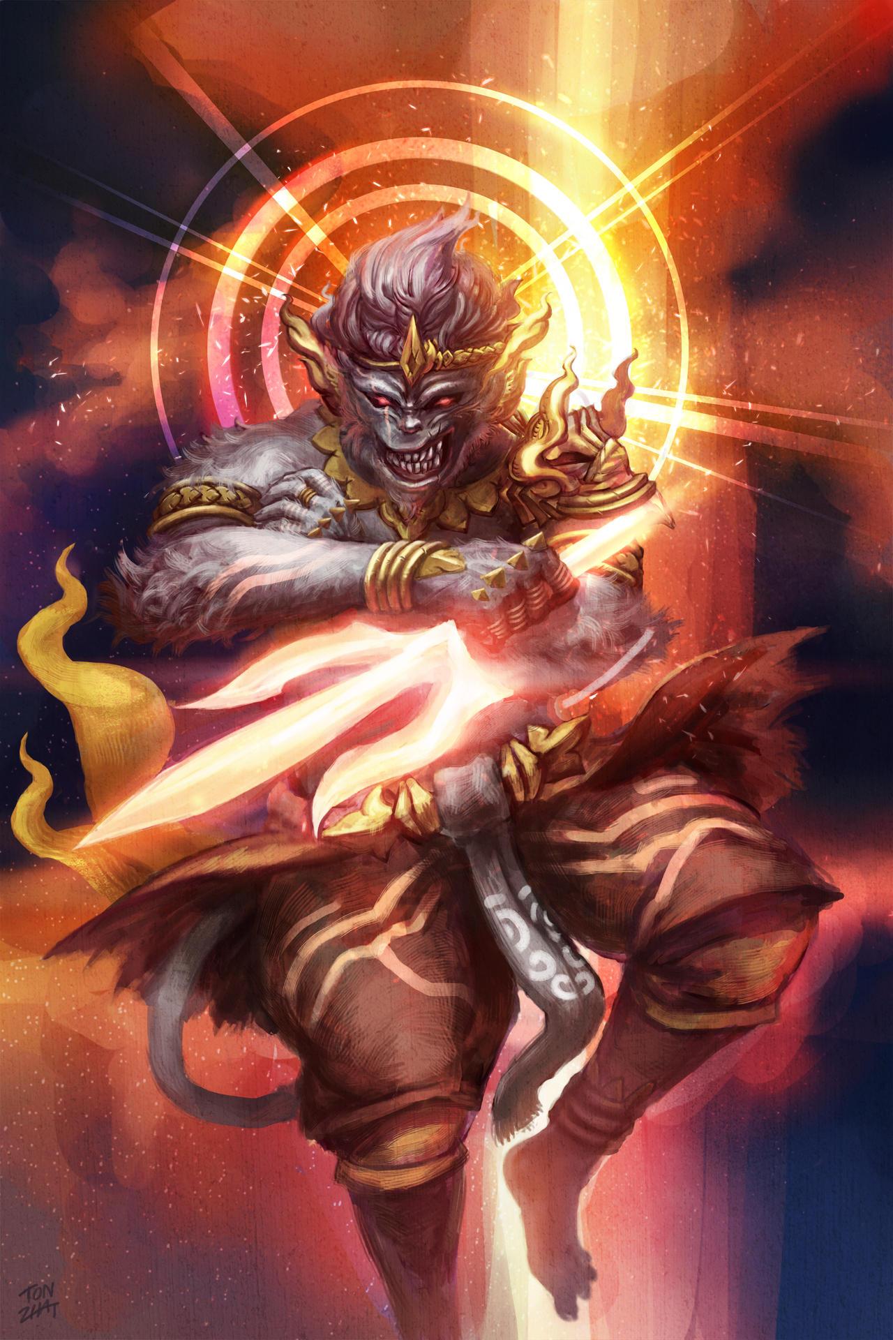Hd wallpaper valmiki - Hanuman On The Veda Deviantart