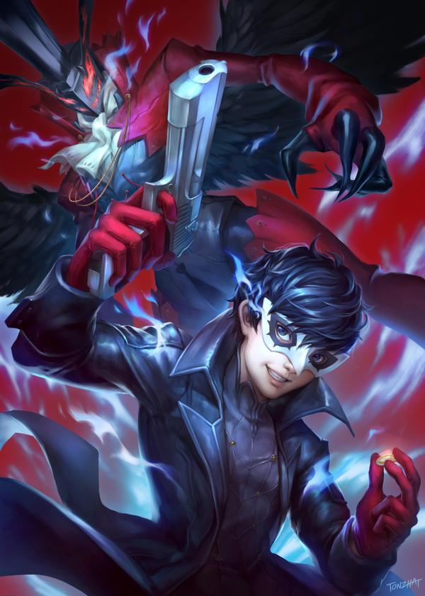 Persona 5 - Joker by tonzhat