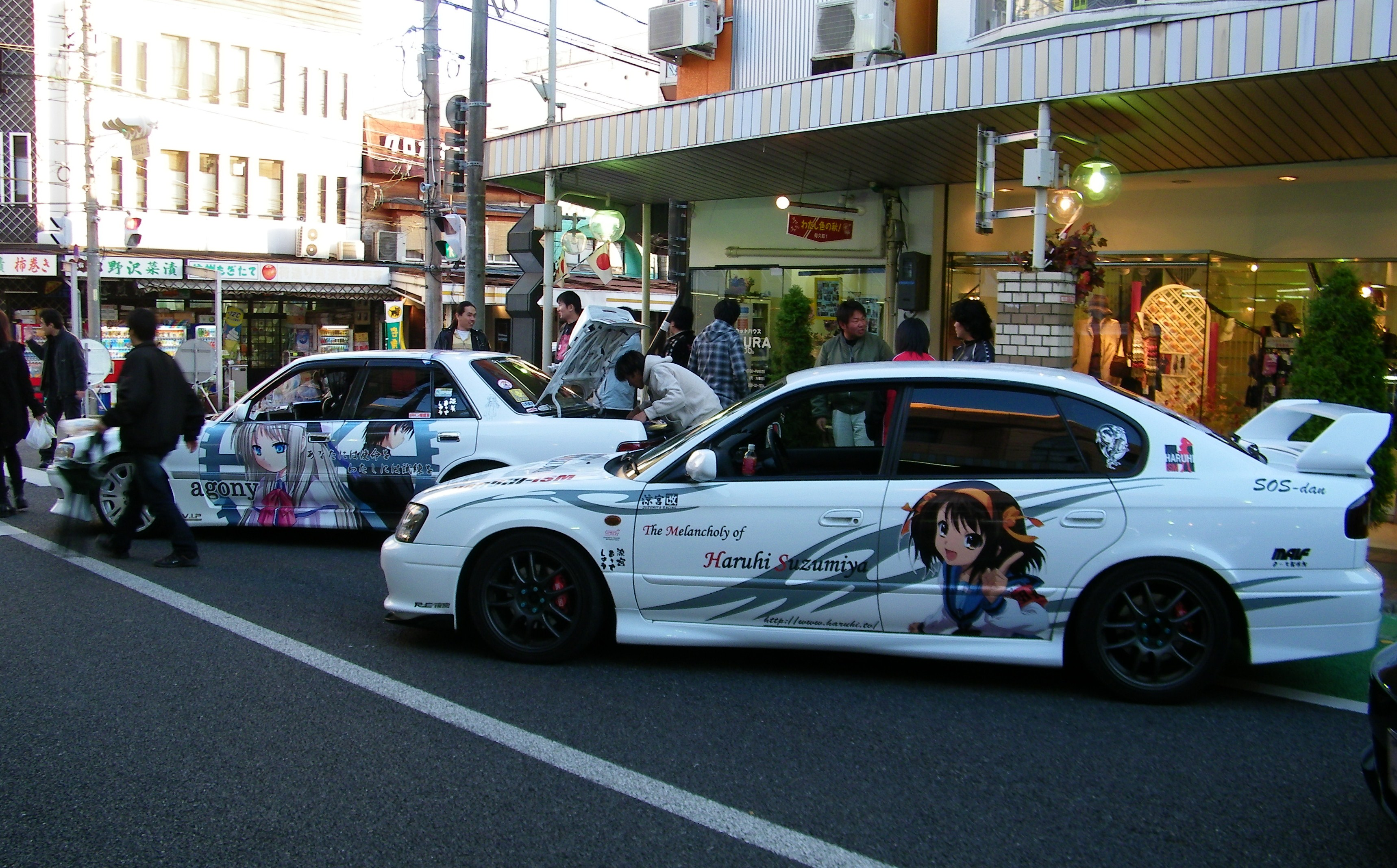 Where i can print paint my car with anime characters for Painting my car