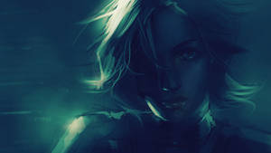 Eva closeup