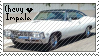 Chevy Impala Stamp by ImagineShibes