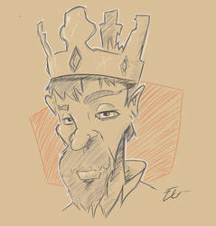 King scetch