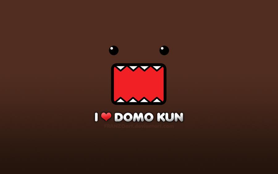 I LOVE DOMO KUN by Franzoart