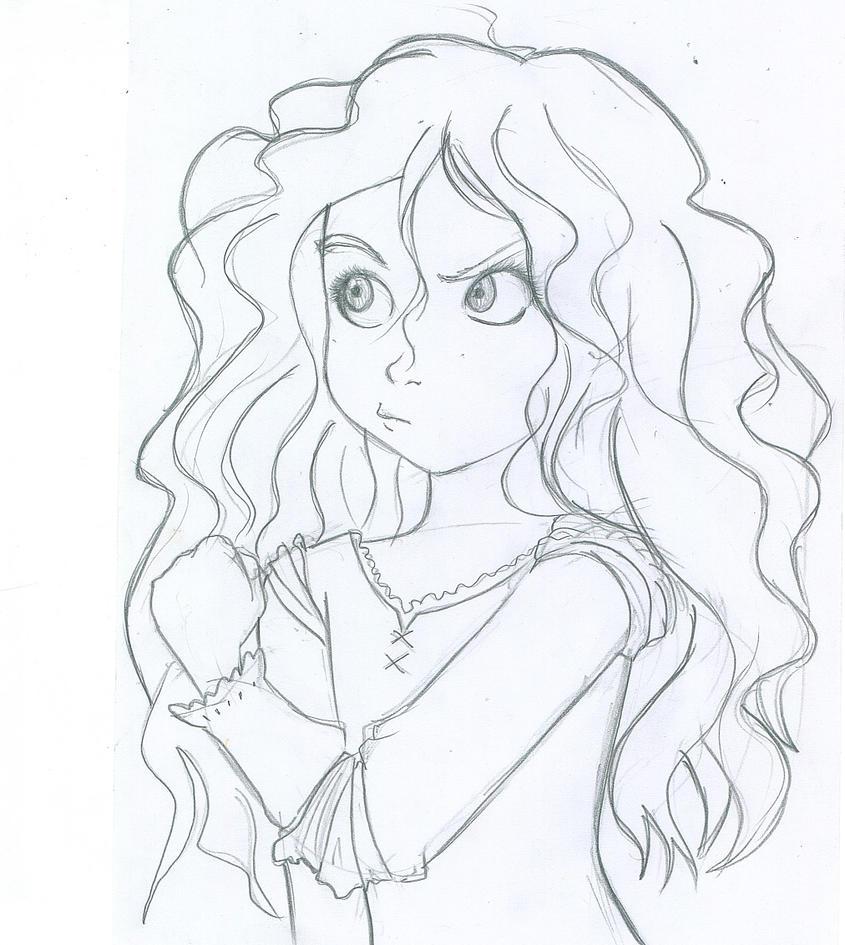 Merida sketch by Yoonah