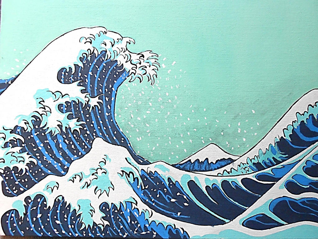 analysis of the great wave off One of the most immediately recognized artworks, japanese wave painting under the great wave off kanagawa has been shaking up the art world for two the contextual analysis of this piece could be done on three different levels the personal one (or what it meant to the artists himself), the socio-historical one ( or what.
