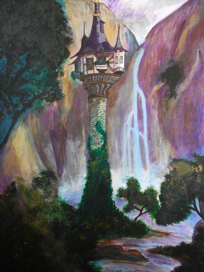 Rapunzel 39 s tower by mac92795 on deviantart - Tangled tower wallpaper ...