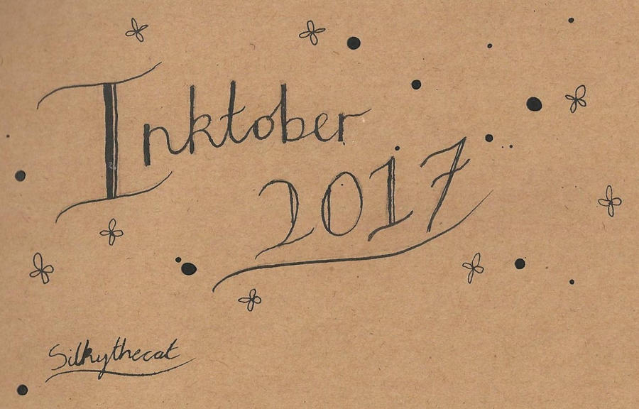 I am trying Inktober this year!