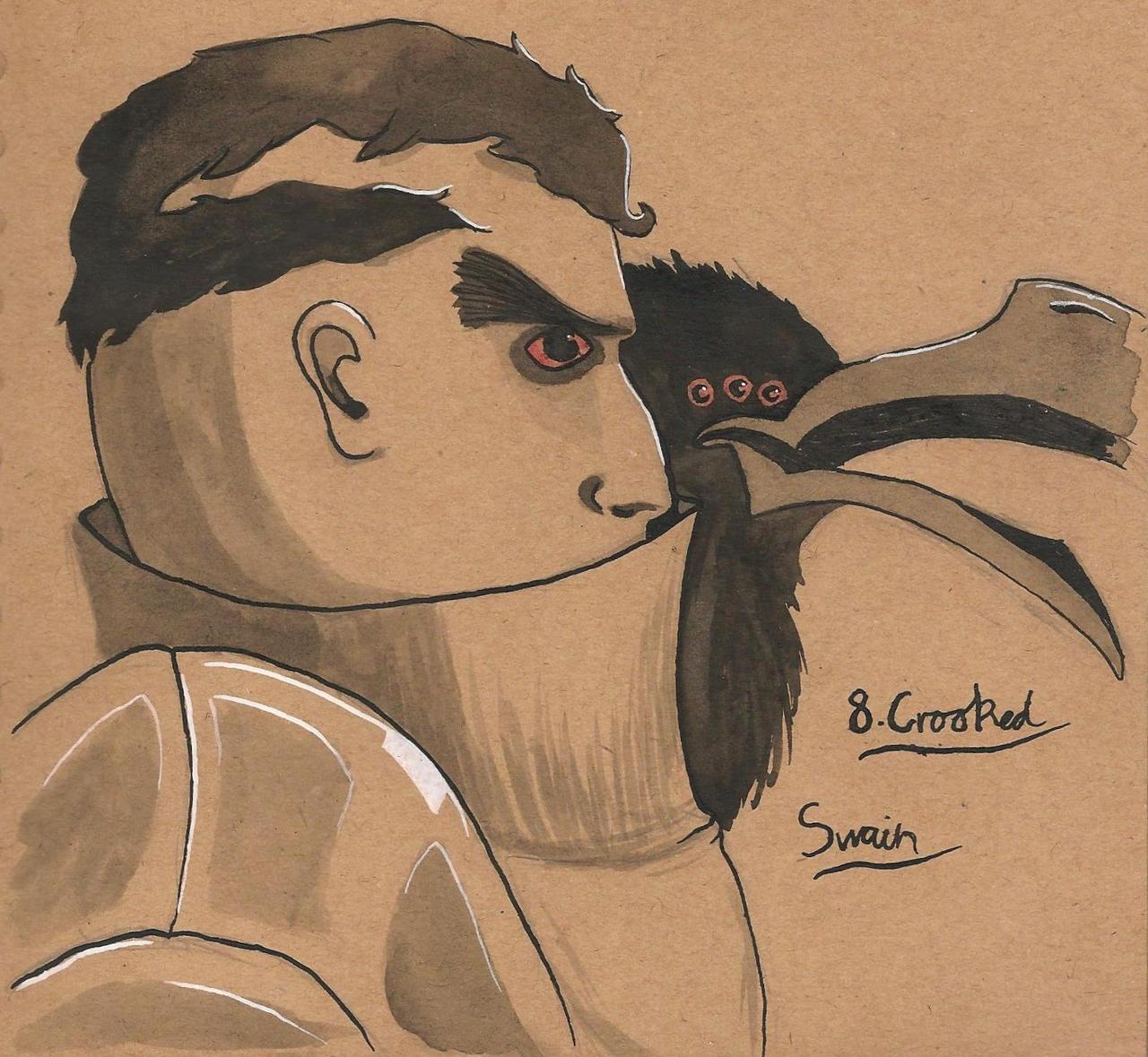 8. Crooked - Swain