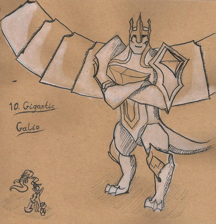 10. Gigantic - Galio