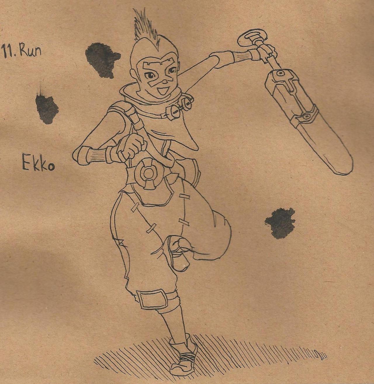 11. Run - Ekko