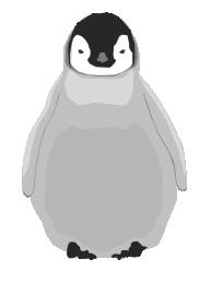 Baby penguin art - photo#13