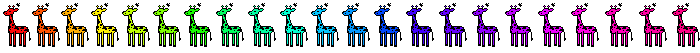 Giraffes by Claves