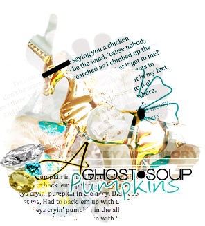 A Ghost Pumpkins Soup by Claves