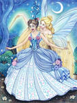 Cinderella and the fairy god mother