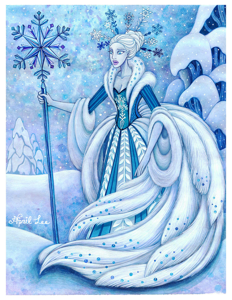snow queen by snuapril01