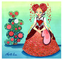 Queen Of Hearts by snuapril01