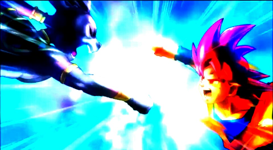 Goku Vs Bills Battle of z goku vs bills byBills Vs Goku Gif