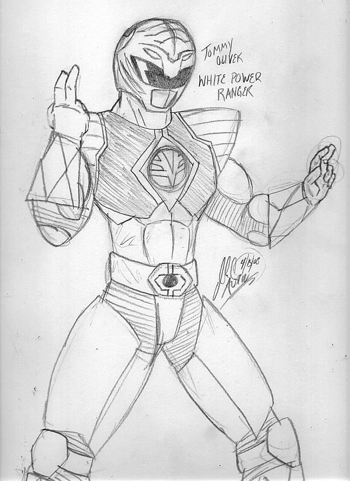 White Power Ranger by SatanJyunanagou on DeviantArt