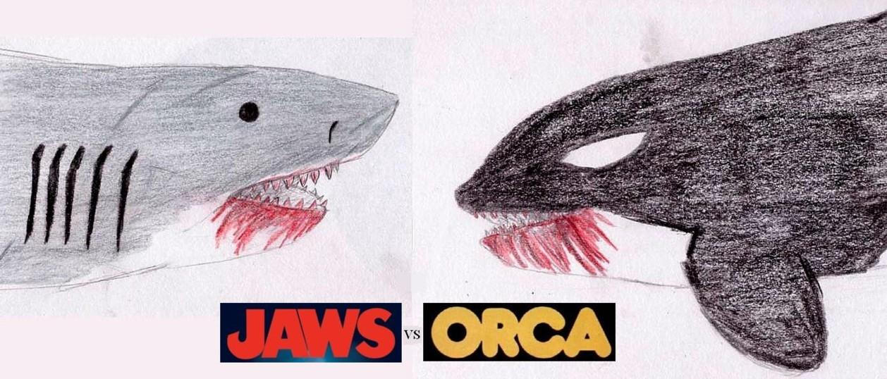 Jaws Vs. Orca by Satan-Jyunanagou on DeviantArt