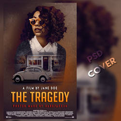 The Tragedy (PSD WATTPAD COVER) by darkface3412