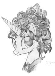The Traditional Royal Headdress