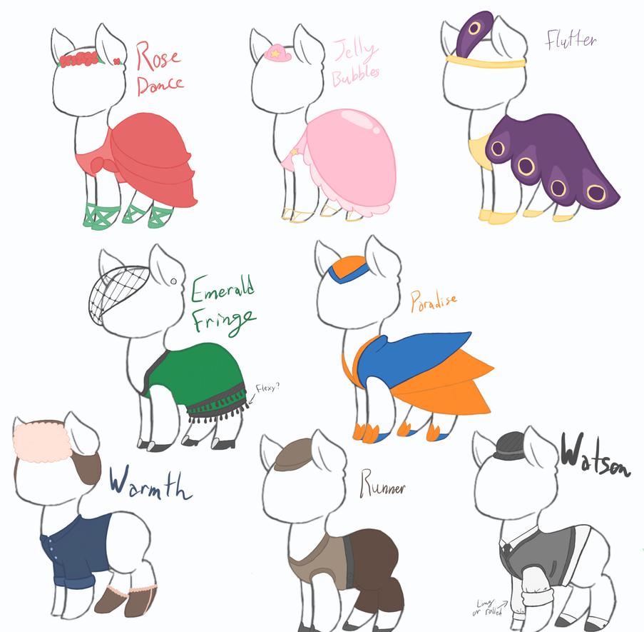 Dapper Doodles by EvvyEnvy