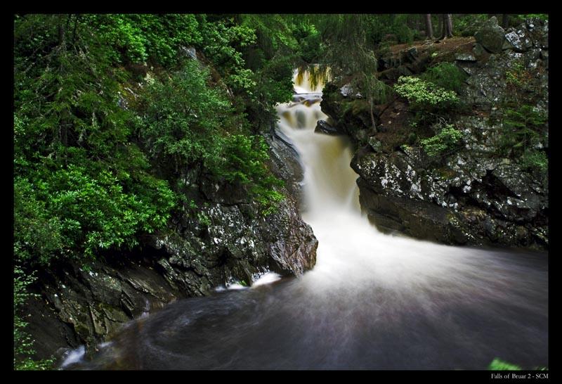 Falls of Bruar 2 Colour by SCM