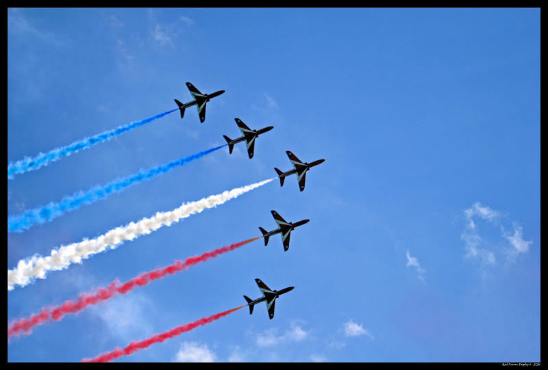 Red Arrows Display 6 by SCM