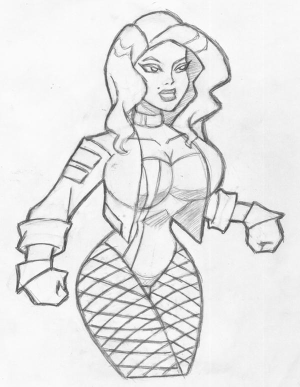 Pictures Of Black Canary Coloring Pages Kidskunst Info
