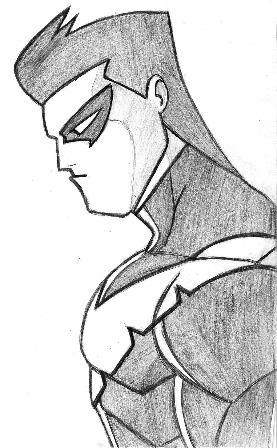 how to draw : Nightwing