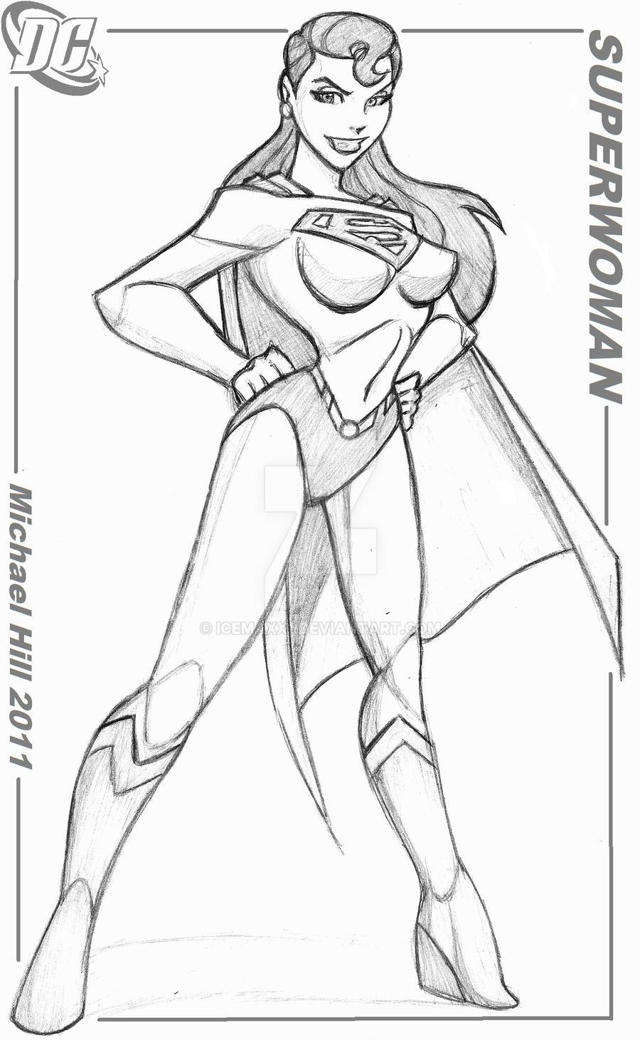 SUPERWOMAN by icemaxx1