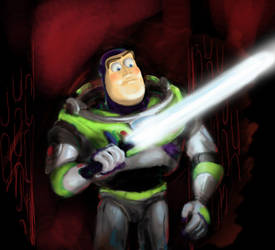 Buzz Lightsaber by rain1940