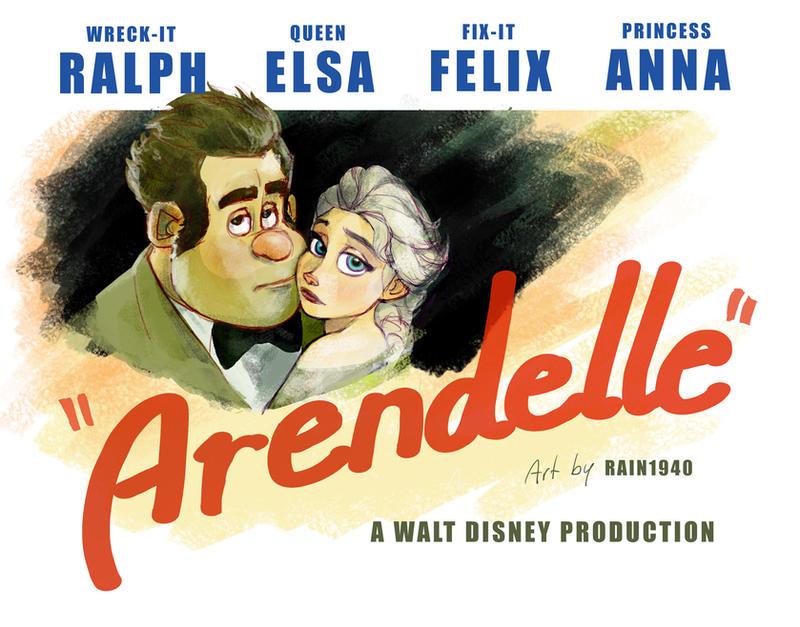 Arendelle by rain1940