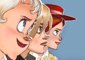 My favourite animated ladies by rain1940