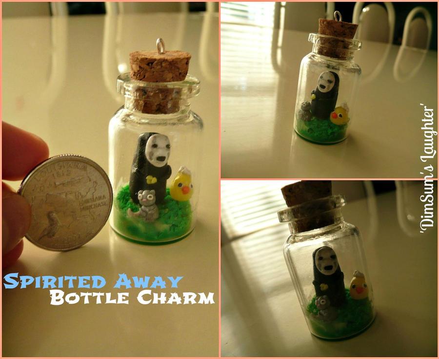 Spirited Away Bottle Charm by XXSaturnNinjaSGXX