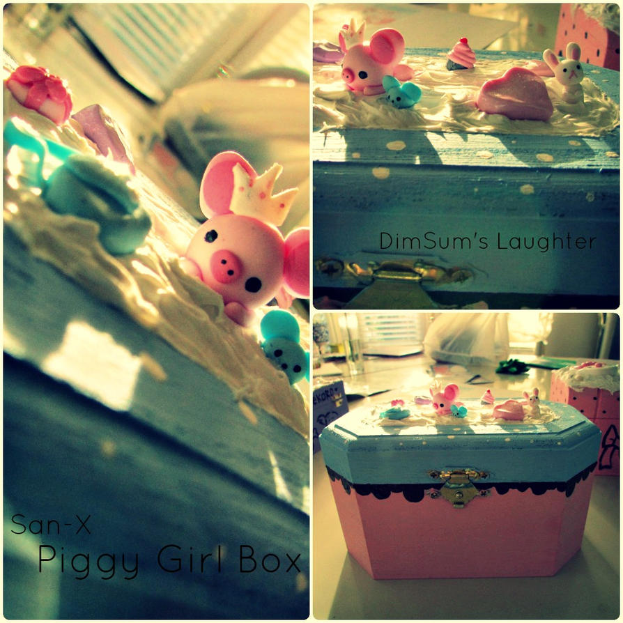 Piggy Girl Deco Box by XXSaturnNinjaSGXX