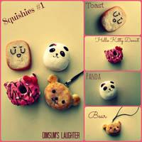 Squishies Set #1 by XXSaturnNinjaSGXX