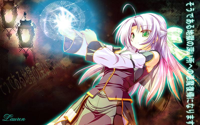Anime magic by lauren244 on deviantart