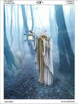 Mystic Tarot: IX the Hermit