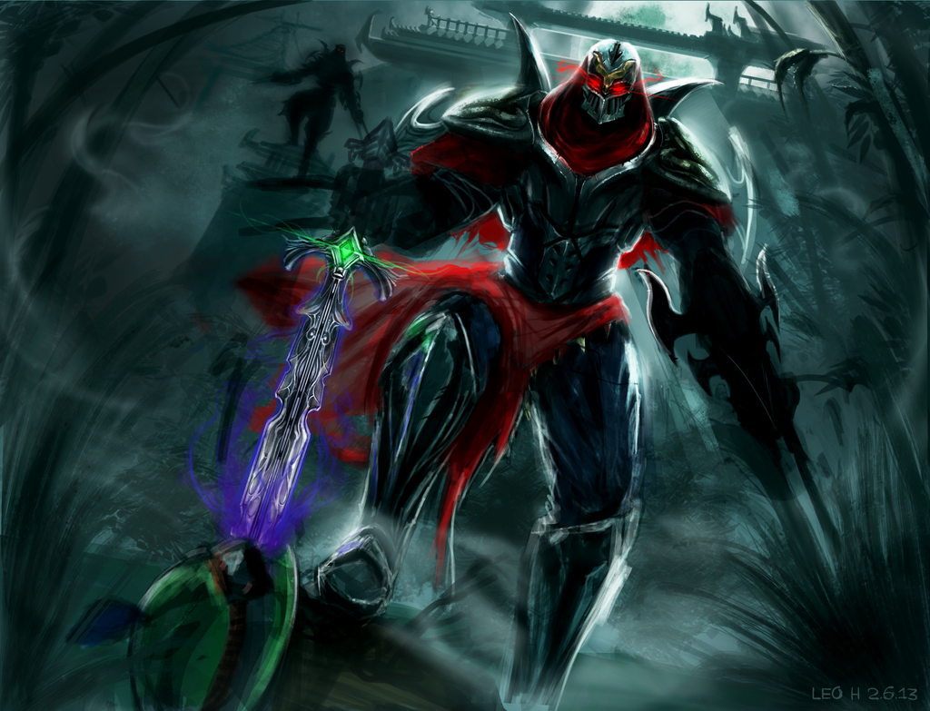 Warlord Zed - League of Legends by Torvald2000 on DeviantArt