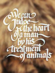 Men Et Animals by rageforst