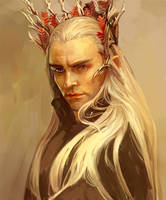 Thranduil-The Hobbit by Marine-95
