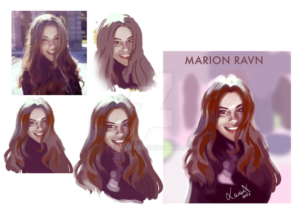 Marion Ravn process by Exavierx