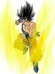 False Super saiyan Goku