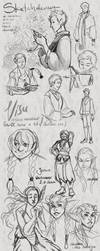 Sketch Collection 07 by HeronsCry
