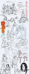 Sketchdump 08 by HeronsCry
