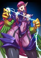 Cyber Harpie Lady by RYUSEI-R