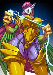 Cyber Harpie Lady 2